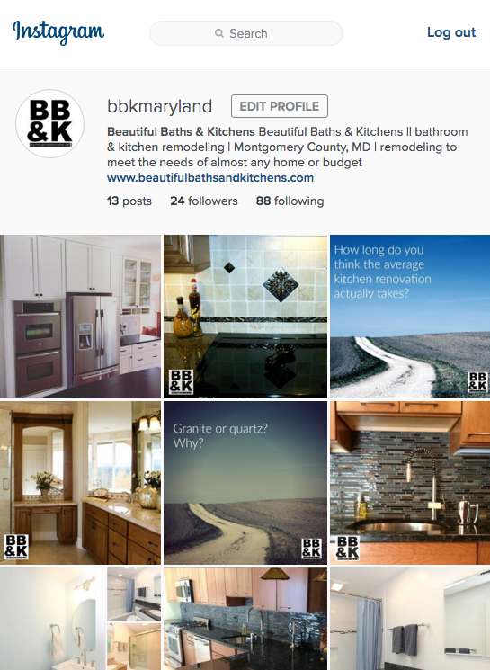 beautiful baths and kitchens on instagram