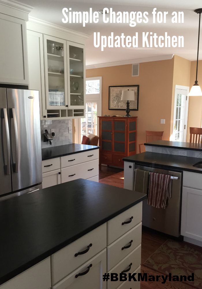 simple changes for an updated kitchen | bbkmaryland