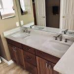 Clean Bathroom Remodeling